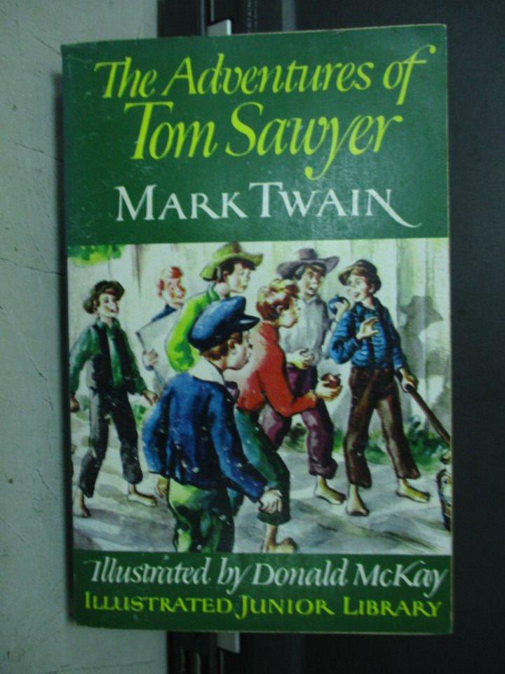 【書寶二手書T8/原文小說_LOI】The Adventures of Tom Sawyer_Mark Twain