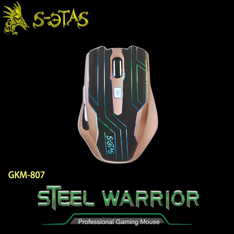 KINYO 耐嘉 GKM-807 鋼鐵力士電競專用滑鼠/光學滑鼠/USB接頭/電腦週邊