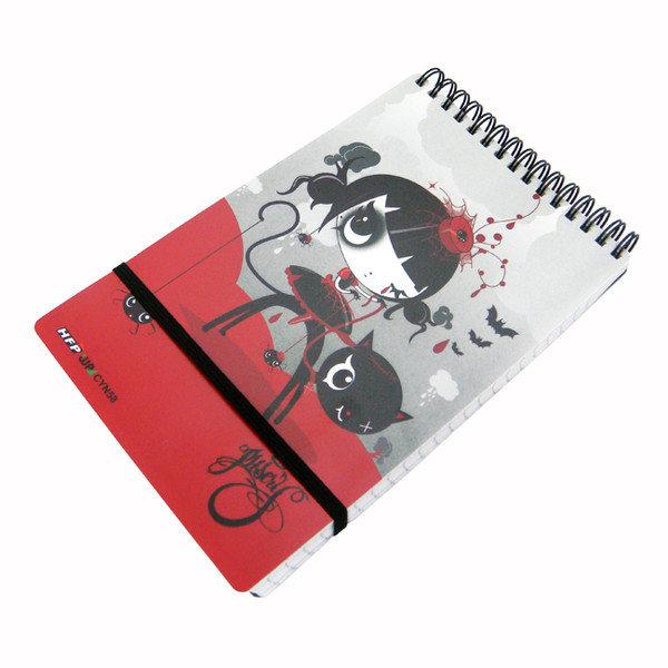 HFPWP 全球限量 Misery 名設計師口袋型筆記本100張內頁附索引尺CYN3351台灣製 / 本