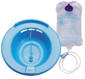 萊潔 舒適坐浴盆組(未滅菌) 1入組裝