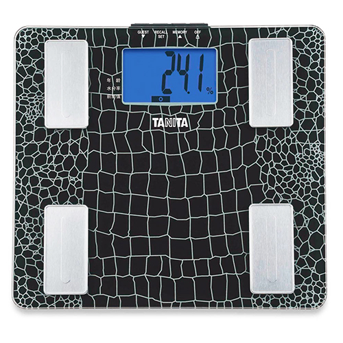 TANITA 塔尼達 體脂肪計 格紋黑 UM-041