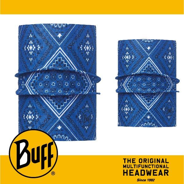 BUFF 西班牙魔術頭巾 寵物頭巾系列 BF113119-707-20 寵物經典頭巾S/M 旅人藍紋