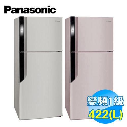 國際 Panasonic 422公升雙門變頻冰箱 NR-B426GV