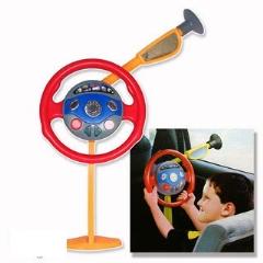 小小司機 兒童駕駛員 電動聲光仿真方向盤 兒童玩具