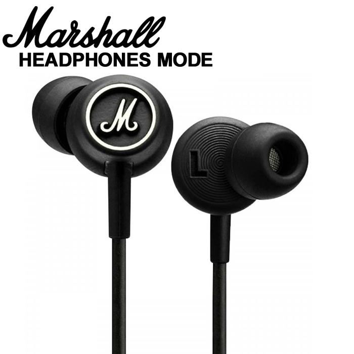 【非凡樂器】Marshall MODE 耳道式耳機/耳塞式【可線控/通話麥克風/各大廠牌手機】