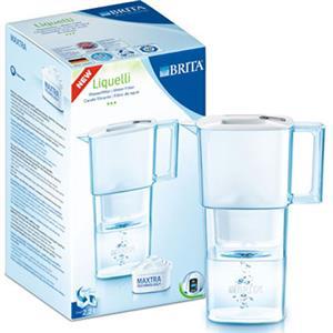 BRITA Liquelli Cool 力酷型濾水壺 2.2L+1入濾心 可置放冰箱門內 全世界最輕的濾水壺只有850g