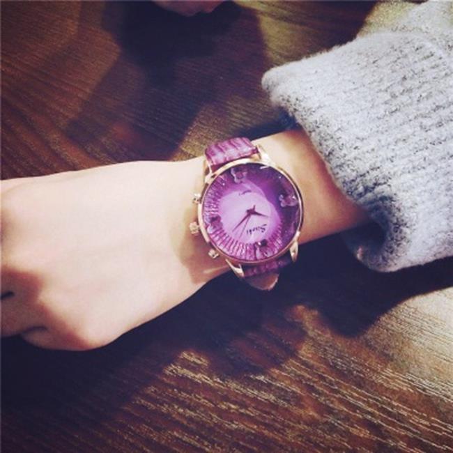 50%OFF【H019060WAH】大盤防水手錶女學生韓版簡約時尚潮流大錶盤石英休閒大氣女表