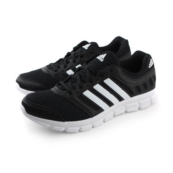 adidas breeze 101 2 m 跑鞋 男鞋 黑白色 no302