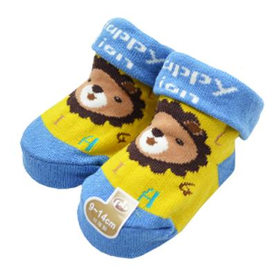 【悅兒樂婦幼用品舘】PEIBOU 貝柔 小獅子寶寶止滑襪(P3636)