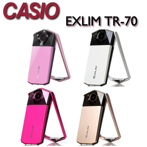 【★現金優惠價★送32G卡+清潔組】CASIO EX-TR70 TR70 數位相機 自拍神器 美肌 功能【中文平輸】