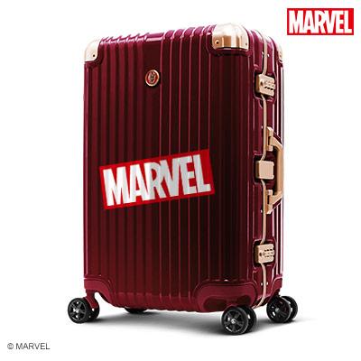 【加賀皮件】Deseno Marvel 漫威復仇者 鏡面 PC 25吋 細鋁框箱 行李箱 旅行箱 鋼鐵人 DL2413