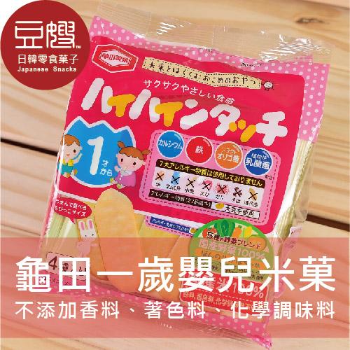 【豆嫂】日本龜田製菓嬰兒米菓(綜合野菜)