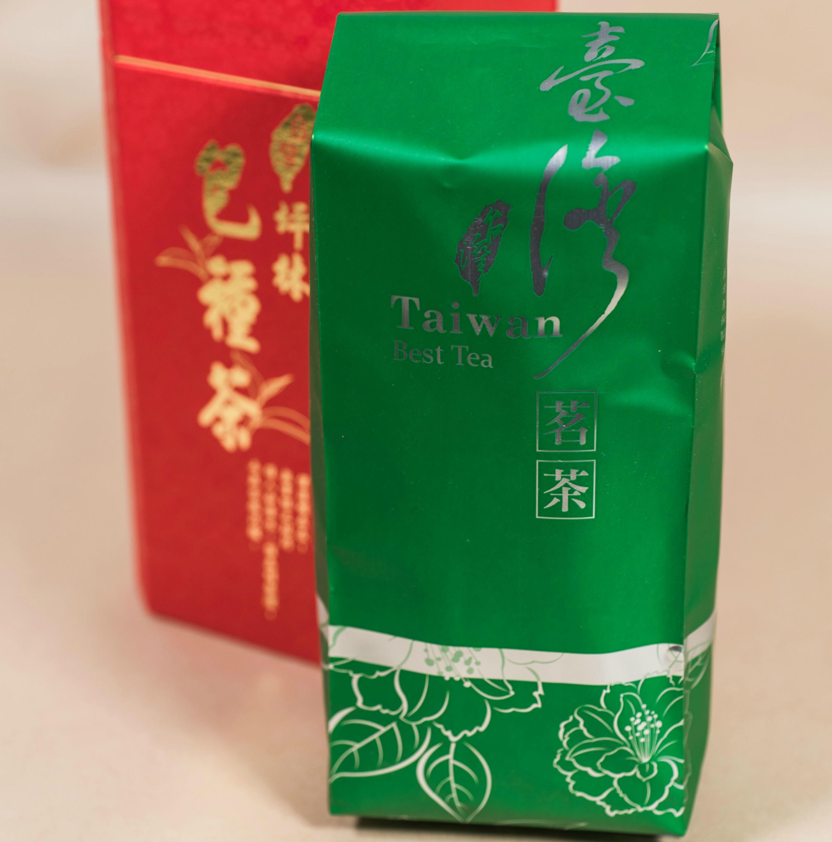 【半熟茶類】深綠色台灣茗茶-150g/包