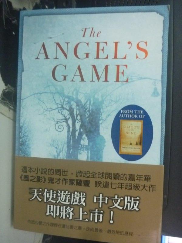 【書寶二手書T3/原文小說_ZIB】The Angel's Game_Carlos Ruiz Zafon