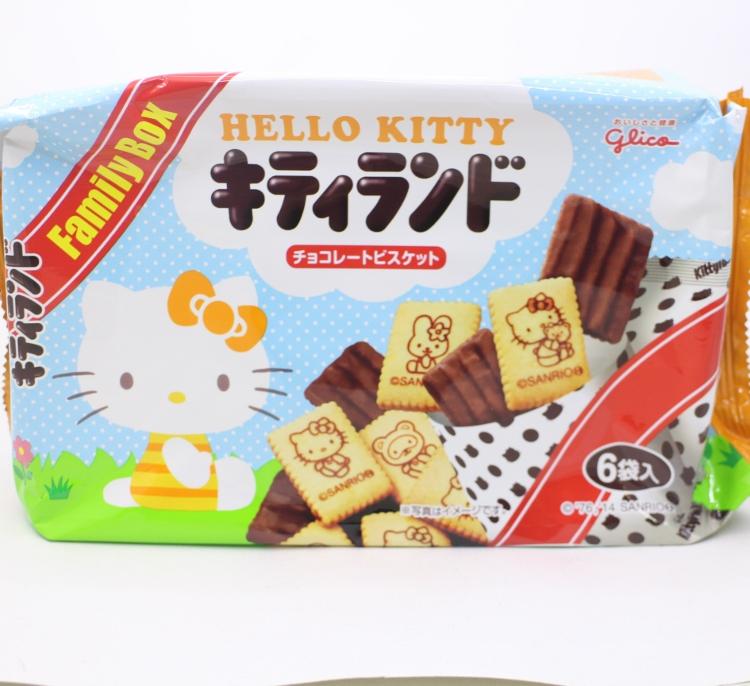 【橘町五丁目】固力果 Hello Kitty巧克力餅乾