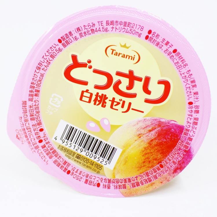 【橘町五丁目】日本TARAMI 果凍杯-白桃 250g