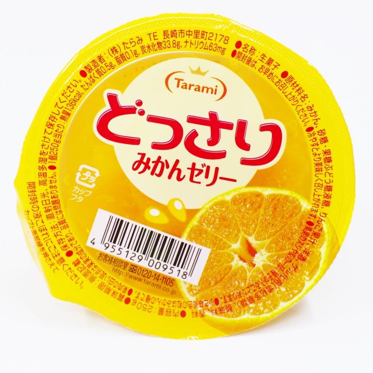 【橘町五丁目】日本TARAMI 果凍杯-柑橘果凍 250g