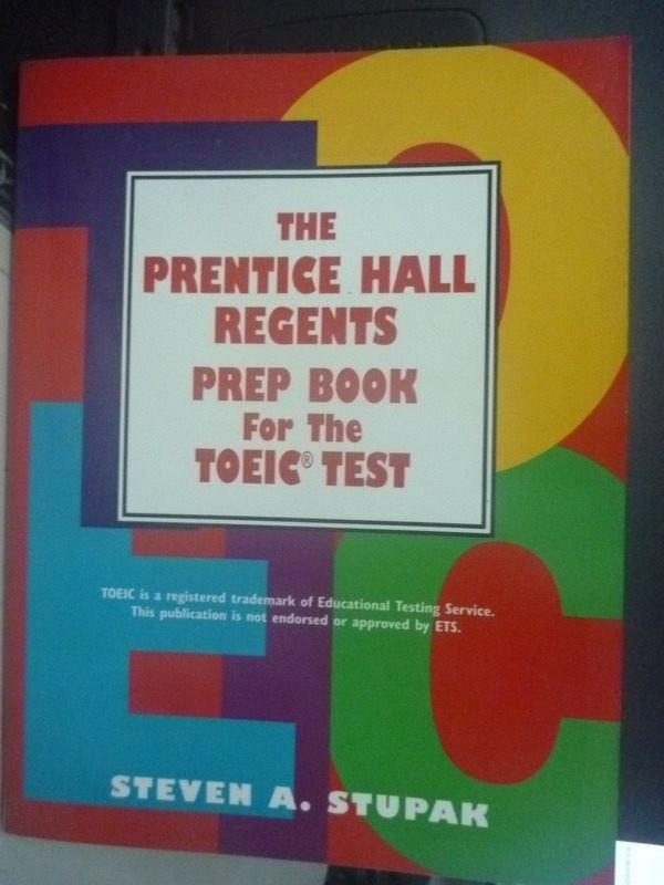 【書寶二手書T3/語言學習_QIT】THE Prentice Hall TOEIC Test