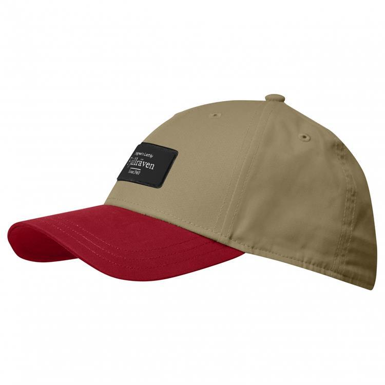 Fjallraven 小狐狸 布章棒球帽/鴨舌帽/休閒帽/棒球帽 Badge Cap 77351 220 沙棕