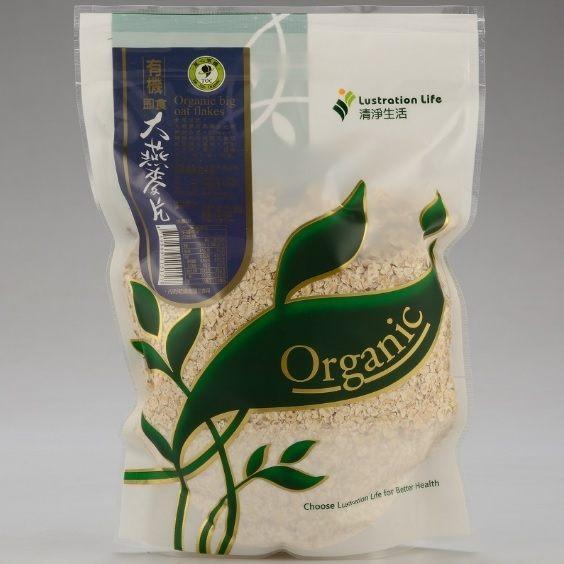 清淨生活 有機即食大燕麥片 450g