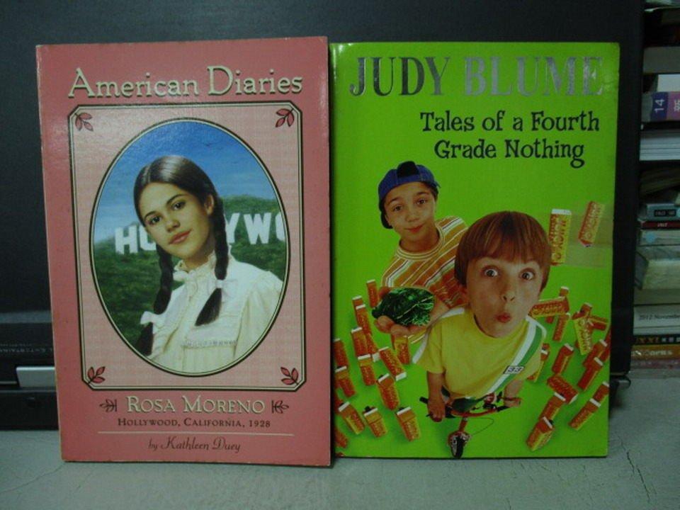【書寶二手書T2/原文小說_LRS】Rosa Moreno_Tales of a fourth grade_共2本合售