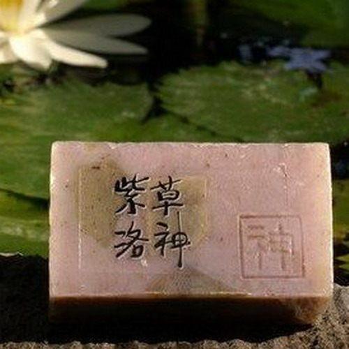 阿原肥皂---天然手工肥皂---紫草洛神皂100g
