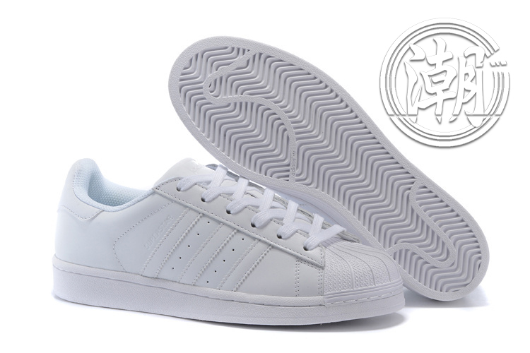Adidas SuperstarII 80S 街頭經典 愛迪達 金標 全白 復古百搭 男女 情侶鞋 休閒鞋【T0139】潮