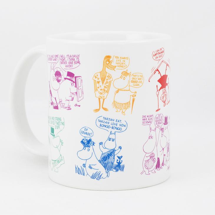 Moomin嚕嚕米授權 - 馬克杯 / 牛奶杯:【 竊竊私語 】
