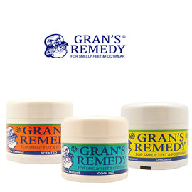 Gran's Remedy 紐西蘭神奇除腳臭粉│紐媽除臭粉/鞋用 50g
