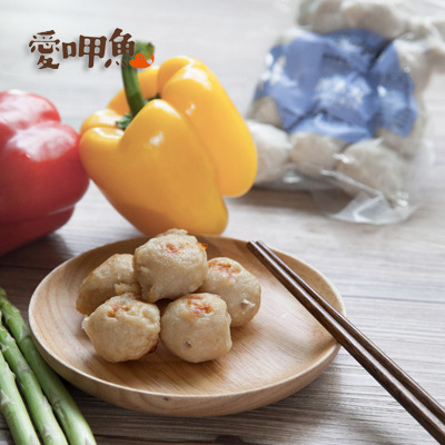 純天然!生食旗魚肉+自然無添加素材~扎實口感★打狗旗玉丸250g