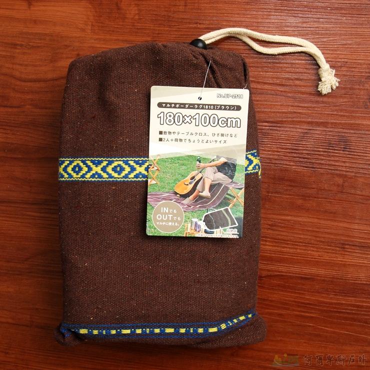 鹿牌 多用途野餐墊/睡墊/桌布/地毯 深棕色UP-2518 [阿爾卑斯戶外/露營] 土城