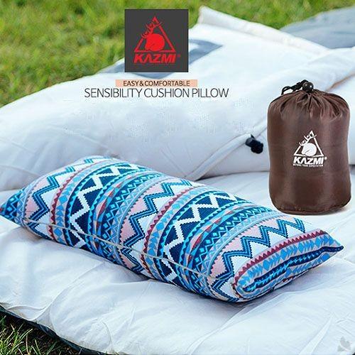 KAZMI 民族風攜帶式棉枕 K6T3M001[阿爾卑斯戶外/露營] 土城