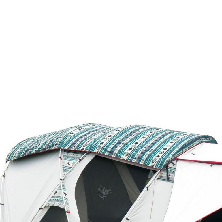 彩繪天空-歡樂家庭帳專用原廠頂布-23137 [阿爾卑斯戶外/露營] 土城