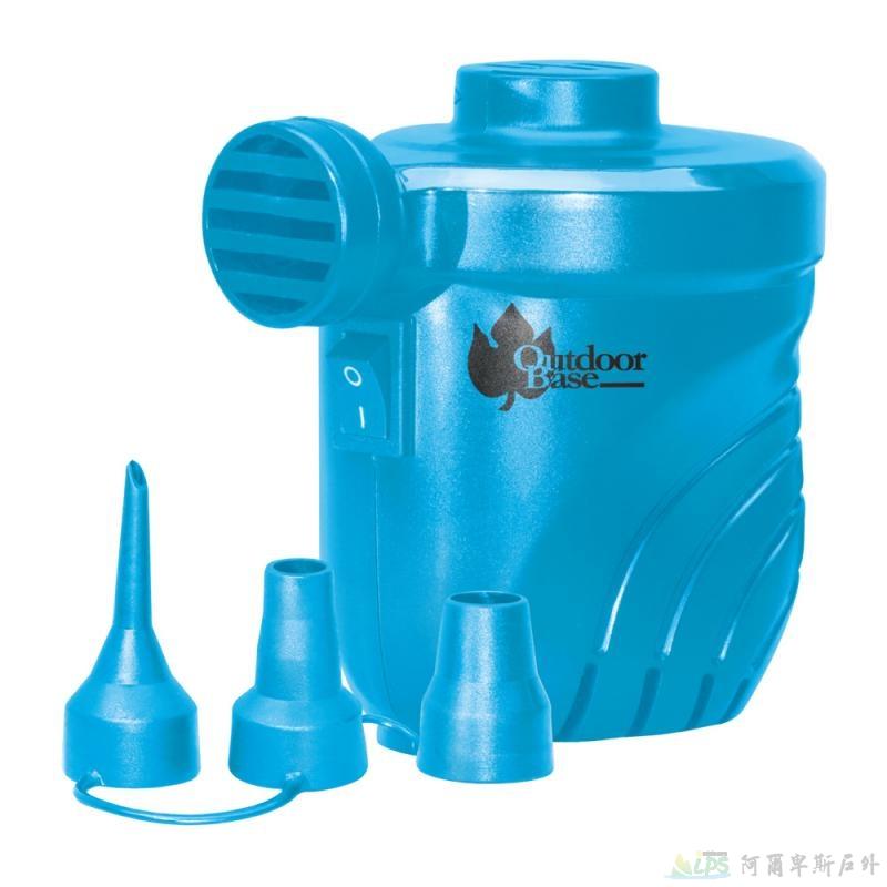 OutdoorBase颶風 充氣床充氣及洩氣馬達 電動充氣幫浦 藍色28262 [阿爾卑斯戶外/露營] 土城