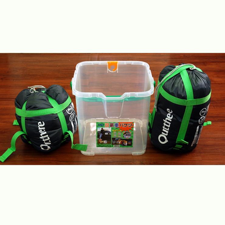 RV桶+兩個好野Outthere好窩睡袋-英威達七孔保暖纖維5~10°C適用 [阿爾卑斯戶外/露營] 土城