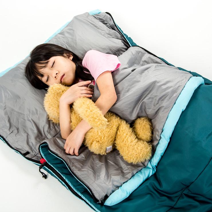 好野 Outthere好窩睡袋英威達七孔保暖纖維5~10°C適用-青色 AS00102 [阿爾卑斯戶外/露營] 土城