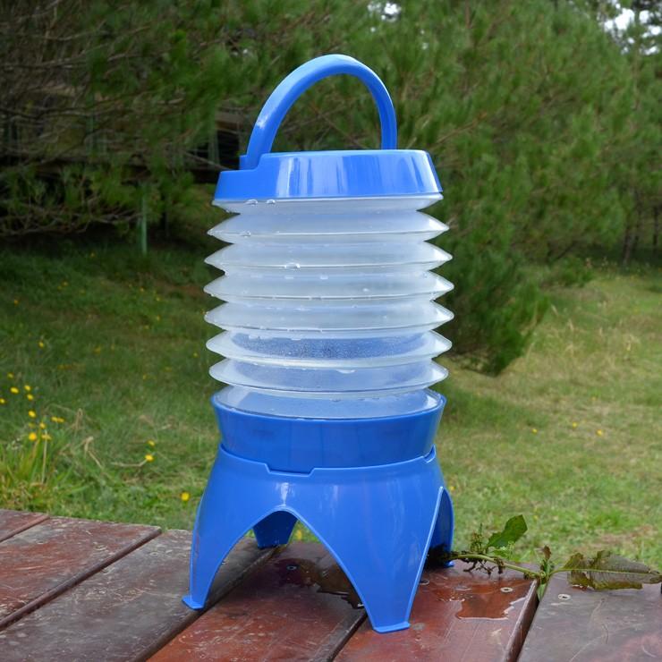 伸縮折疊蓄水桶5公升 DE0057 [阿爾卑斯戶外/露營] 土城