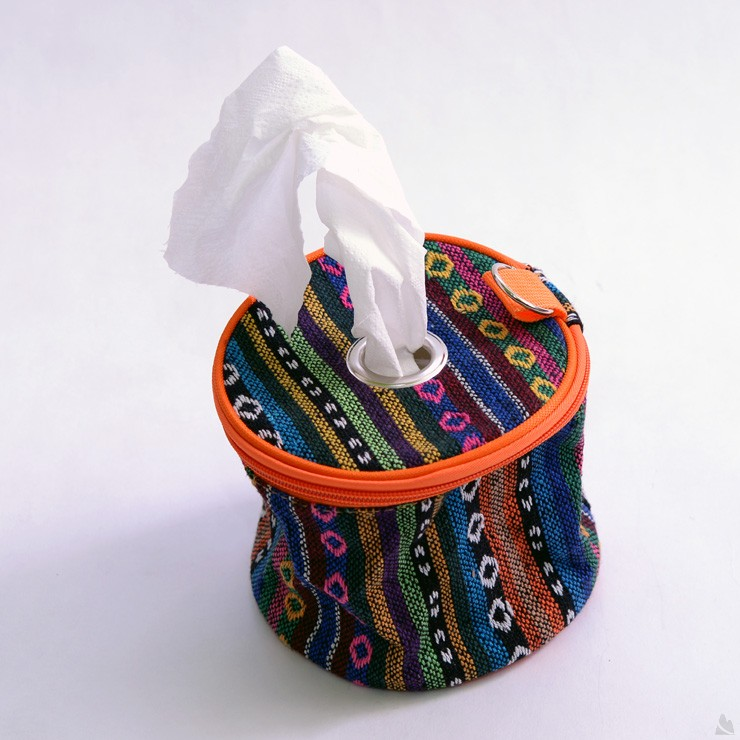 TNR衛生紙桶袋/民族風紙巾盒 DE0058 [阿爾卑斯戶外/露營] 土城