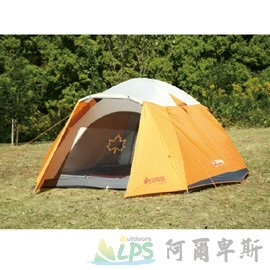 [阿爾卑斯戶外/露營] 土城 LOGOS 桔楓300FR-IZ帳篷(台灣限定款)71801725TW-O