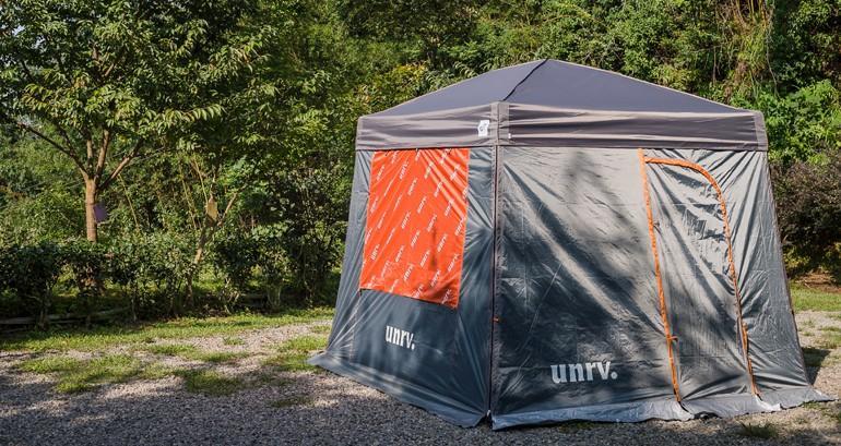 UNRV 第六代27秒速搭帳/客廳炊事帳 含防水頂布x1+邊圍布窗x1 [阿爾卑斯戶外/露營] 土城 EZup Vista