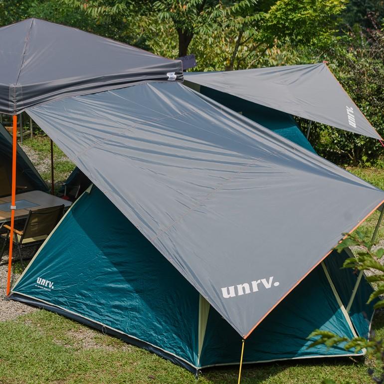 延伸布UNRV 第六代27秒速搭帳用 小天幕 [阿爾卑斯戶外/露營] 土城 AB0009