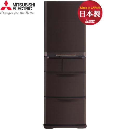 Mitsubishi 三菱 MR-B42T-UW-C 420L 5門 變頻電冰箱 日本原裝 (都會棕)