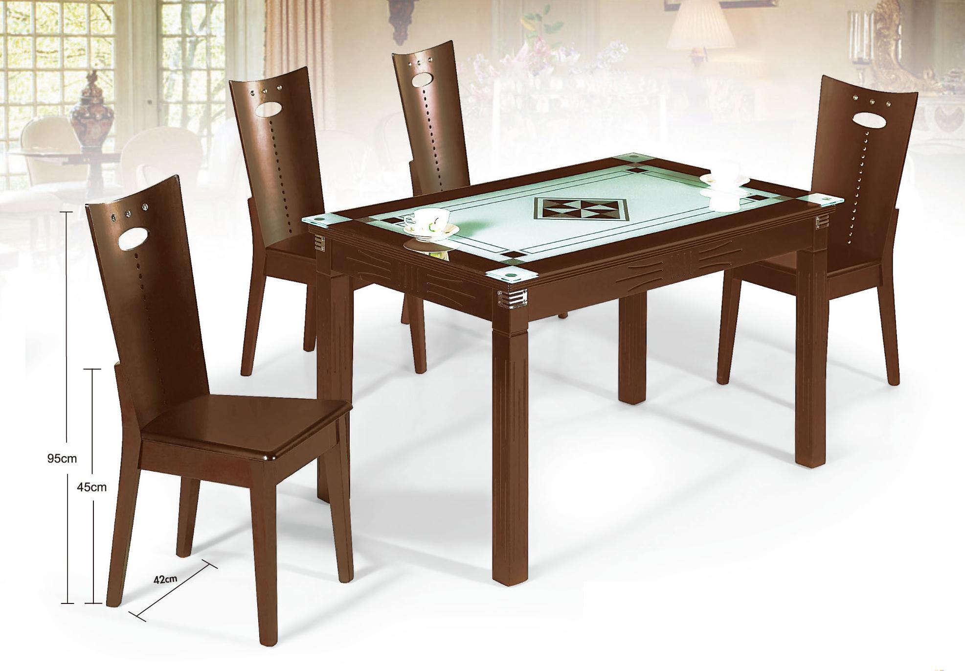 【尚品傢俱】JJ-7203 胡桃木餐桌