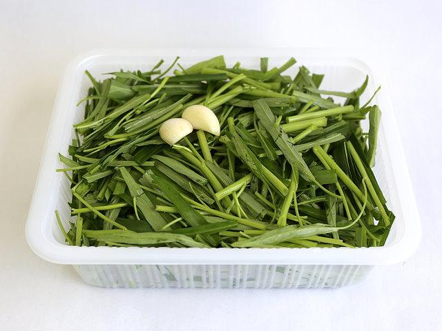 【食在方便】清炒空心菜  350g