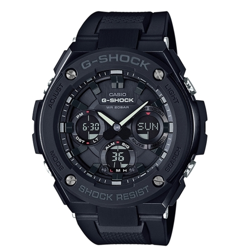 CASIO G-SHOCK 突破自我強悍有力運動腕錶/GST-S100G-1BDR