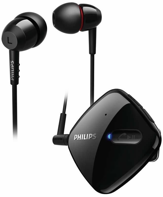 【迪特軍3C】PHILIPS 飛利浦 SHB5000 WT Philips 藍芽 立體聲耳道式耳機 黑色