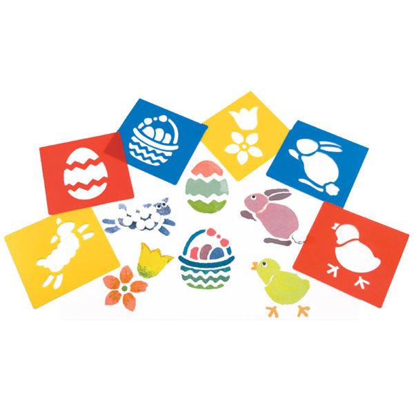 【華森葳兒童教玩具】美育教具系列-模型畫板-復活節 L1-AP/2012/WSE