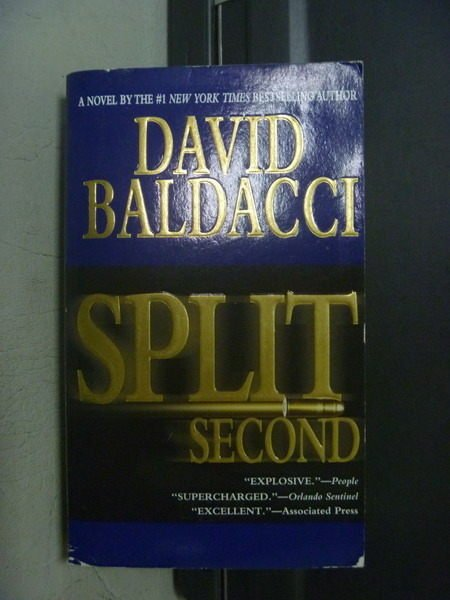 【書寶二手書T4/原文小說_OGY】Split Second_David Baldacci