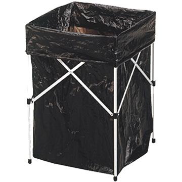 【【蘋果戶外】】Go Sport 45270 鋁合金可調式垃圾架_垃圾桶(附5PS垃圾袋)攜帶超方便/適露營 炊事 居家休閒烤肉