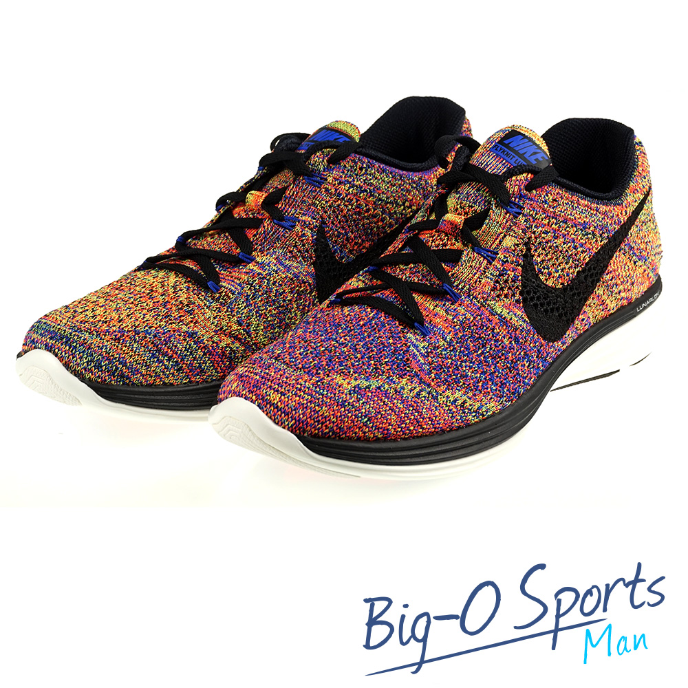 NIKE 耐吉 NIKE FLYKNIT LUNAR3  專業慢跑鞋 男 698181408 Big-O Sports